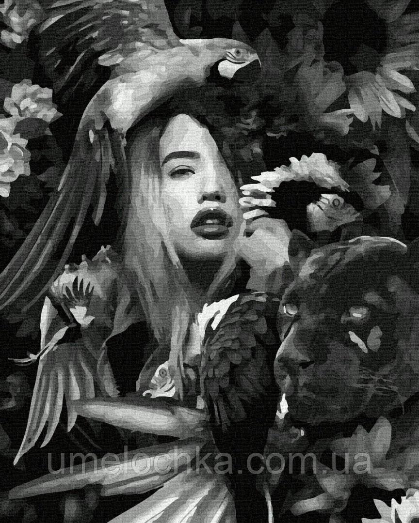 Картина по номерам BrushMe Амазонка (BRM35639) 40 х 50 см