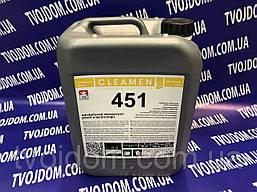Средство CLEAMEN 451 - 5 л. для устранения известкового налета с нержавеющей стали.