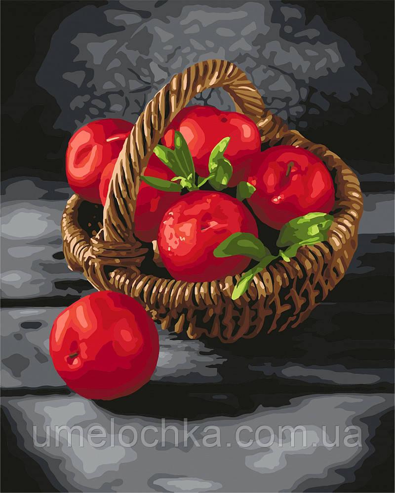Картина по номерам Идейка Яркие витамины (KH5585) 40 х 50 см