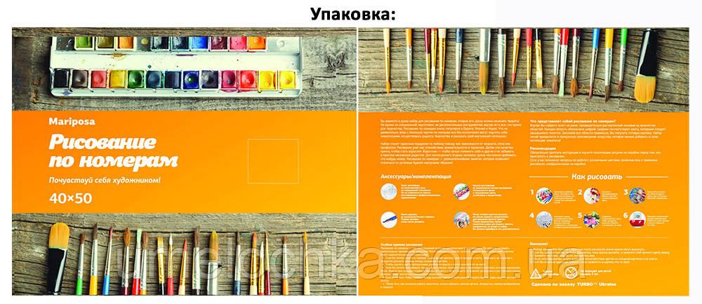 Картина по номерам Малиновые пирожные (MR-Q2156) 40 х 50 см Mariposa