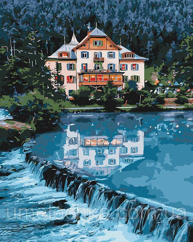 Картина по номерам Идейка Дом мечты (KHO2267) 40 х 50 см (Без коробки)