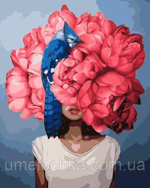 Картина по номерам Mariposa Пионы Эми Джадд (MR-Q2238) 40 х 50 см