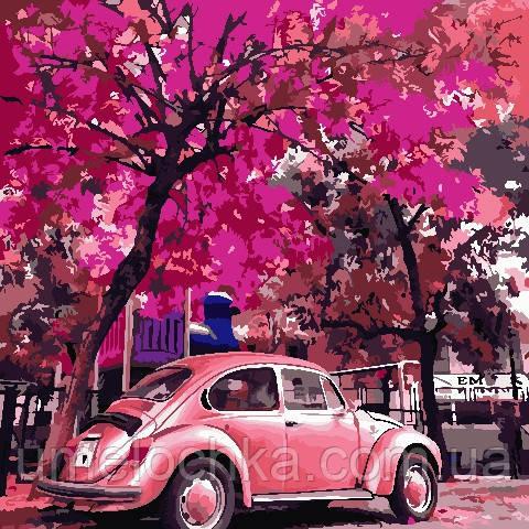 Картина по номерам ArtStory Ретро авто (AS0793) 40 х 40 см (Без коробки)