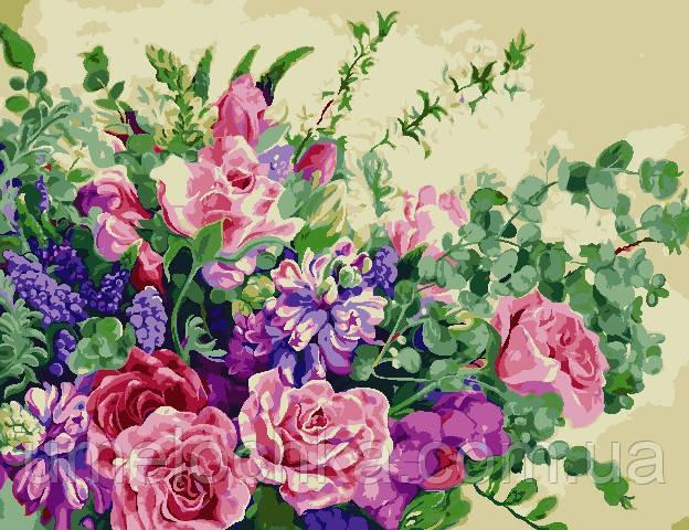 Картина по номерам ArtStory Чудесные цветы (AS0815) 50 х 65 см