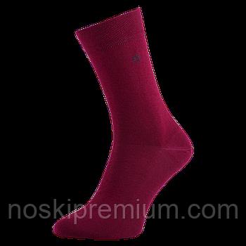 Шкарпетки чоловічі демісезонні бавовна Місюренко, 25 розмір, бордові, 01050