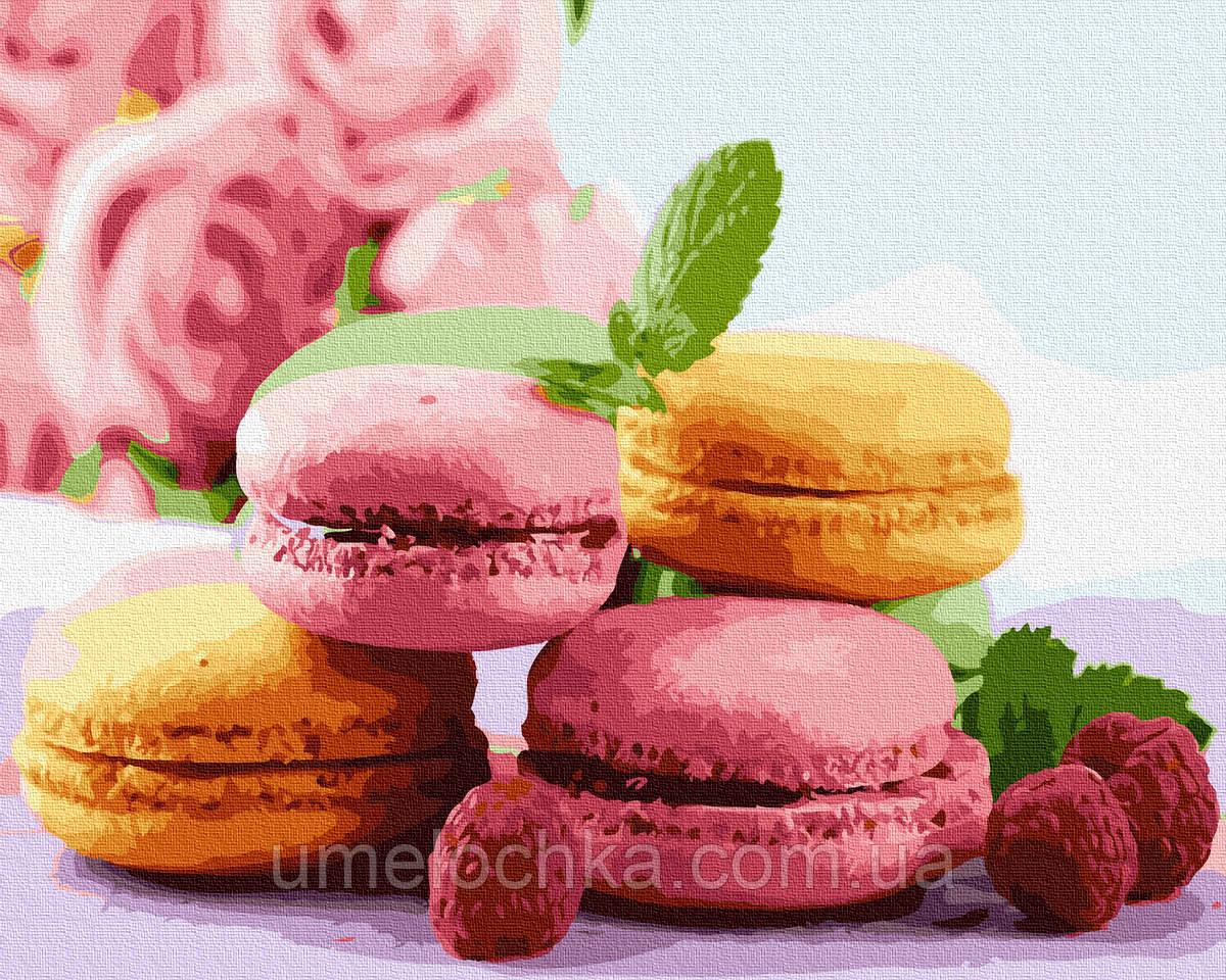 Картина по номерам  Легкий десерт (BK-GX34667) 40 х 50 см (Без коробки)