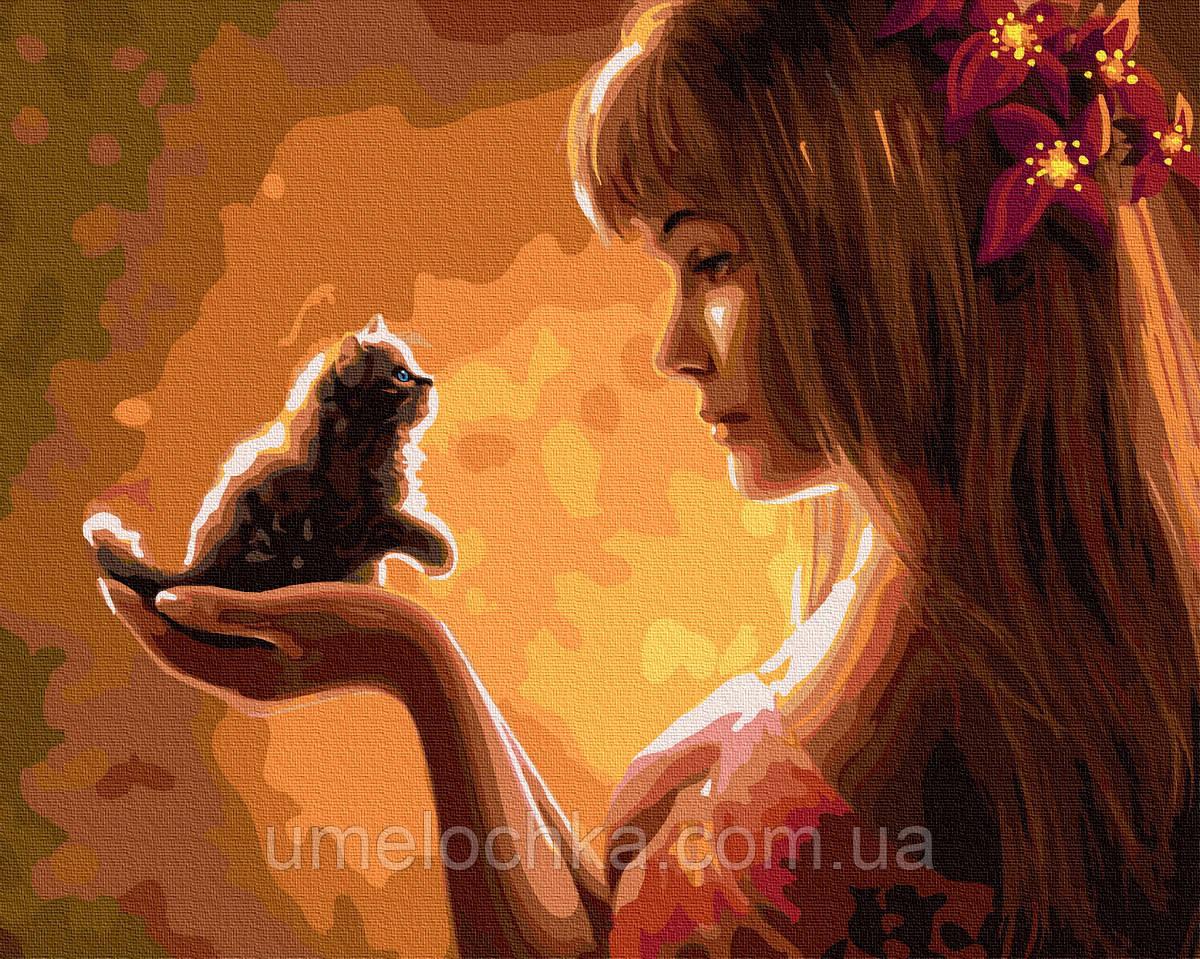 Картина по номерам  Нежное создание (BK-GX35210) 40 х 50 см (Без коробки)