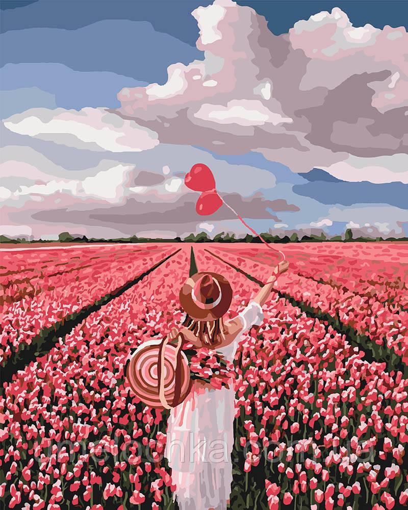 Раскраска для взрослых Розовая мечта (KHO4603) 40 х 50 см Идейка (Без коробки)