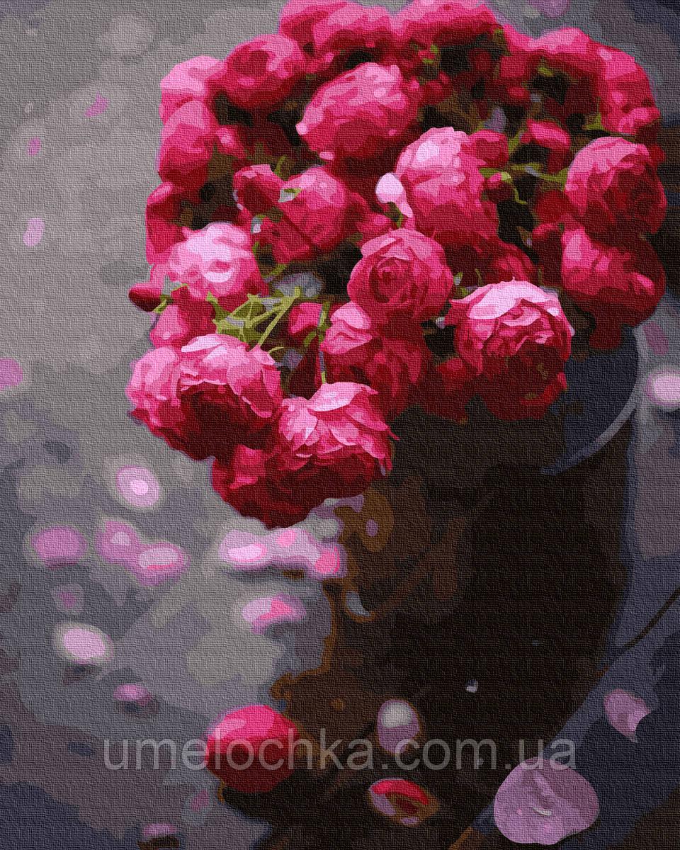 Картина по номерам  Ярко-розовое великолепие (BK-GX37865) 40 х 50 см (Без коробки)