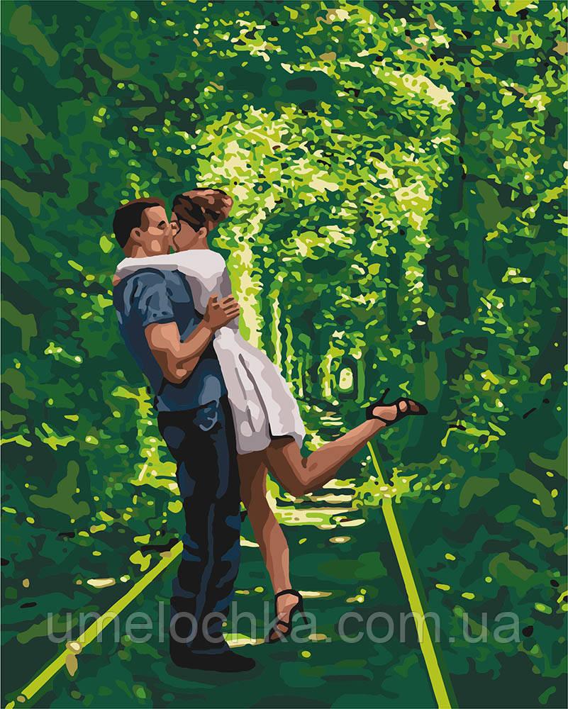 Картина по номерам Идейка Арка любви (KHO4649) 40 х 50 см (Без коробки)