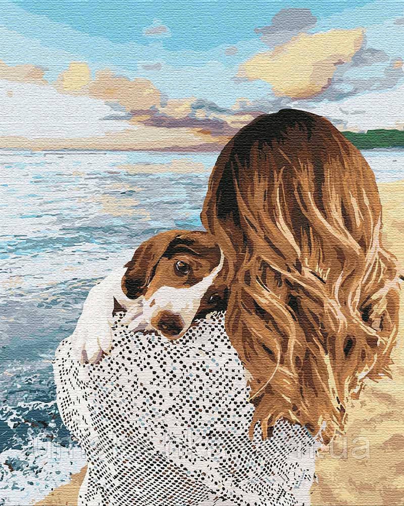 Картина по номерам Идейка Любовь до потери сознания (KHO4766) 40 х 50 см (Без коробки)
