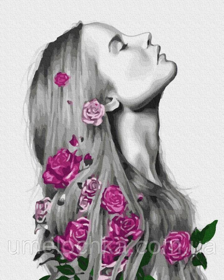 Картина по номерам  Изящная красота (BRM32340) 40 х 50 см