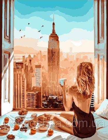 Картина по номерам  Приятный завтрак (BRM34447) 40 х 50 см