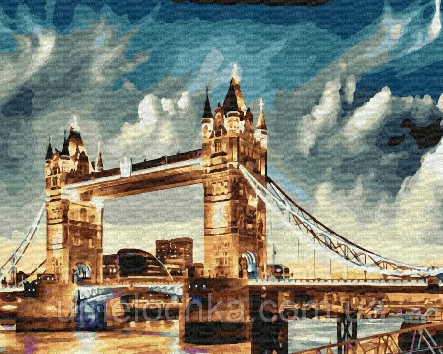 Картина по номерам  Тауэрский мост (BRM35864) 40 х 50 см