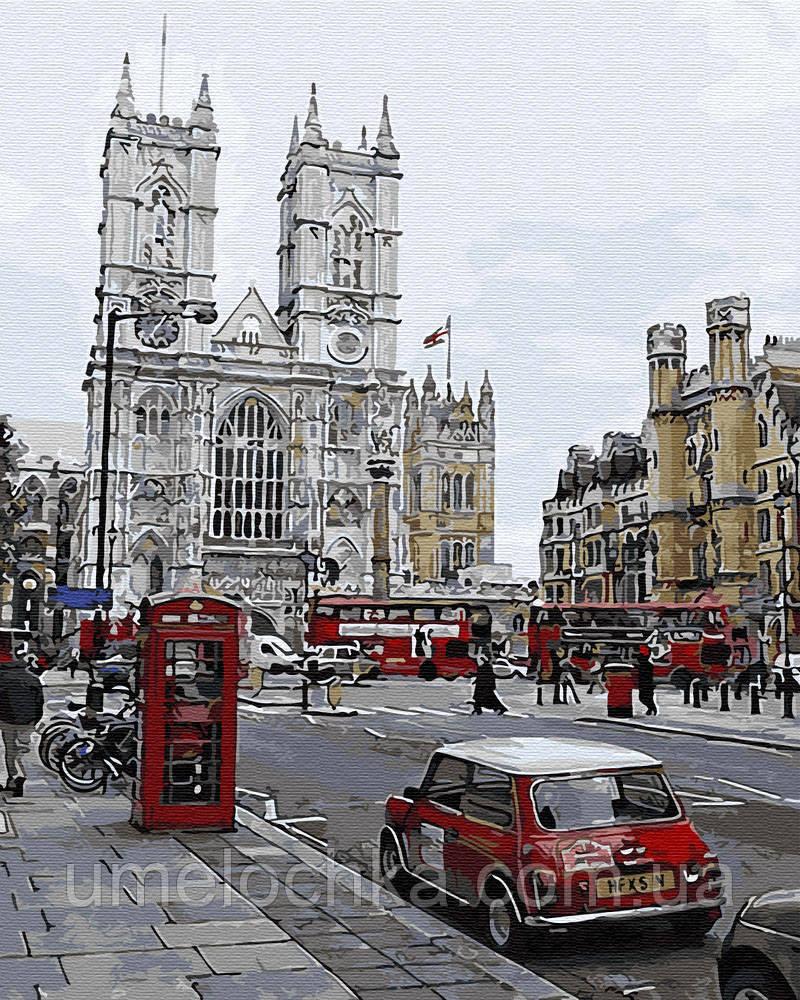 Картина по номерам Вечерний Лондон (BK-GX30105) 40 х 50 см (Без коробки)