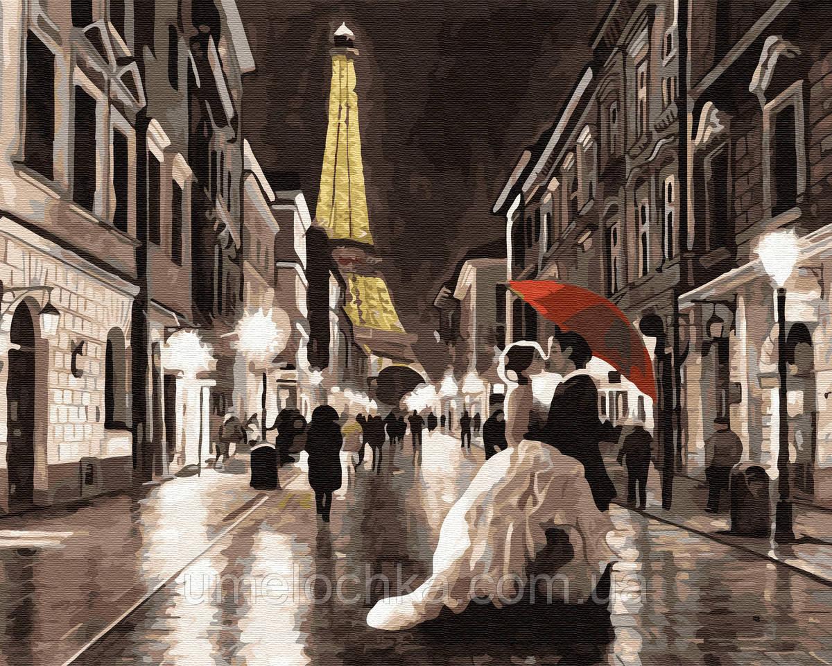 Картина по номерам  Свадьба в Париже (BK-GX33254) 40 х 50 см (Без коробки)