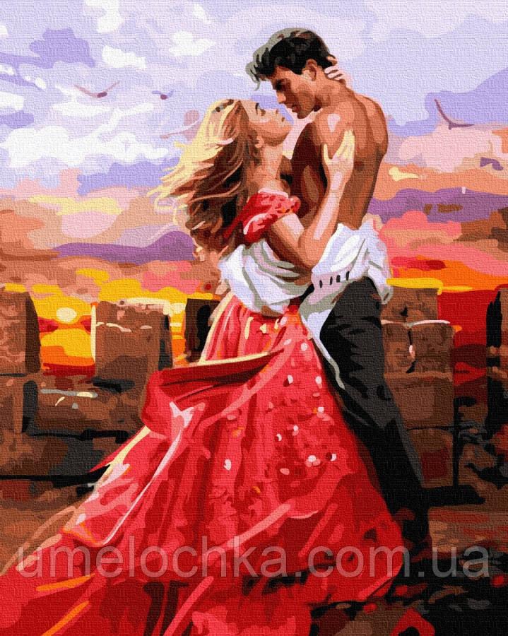 Раскраска для взрослых  Любовь (BK-GX36106) 40 х 50 см (Без коробки)