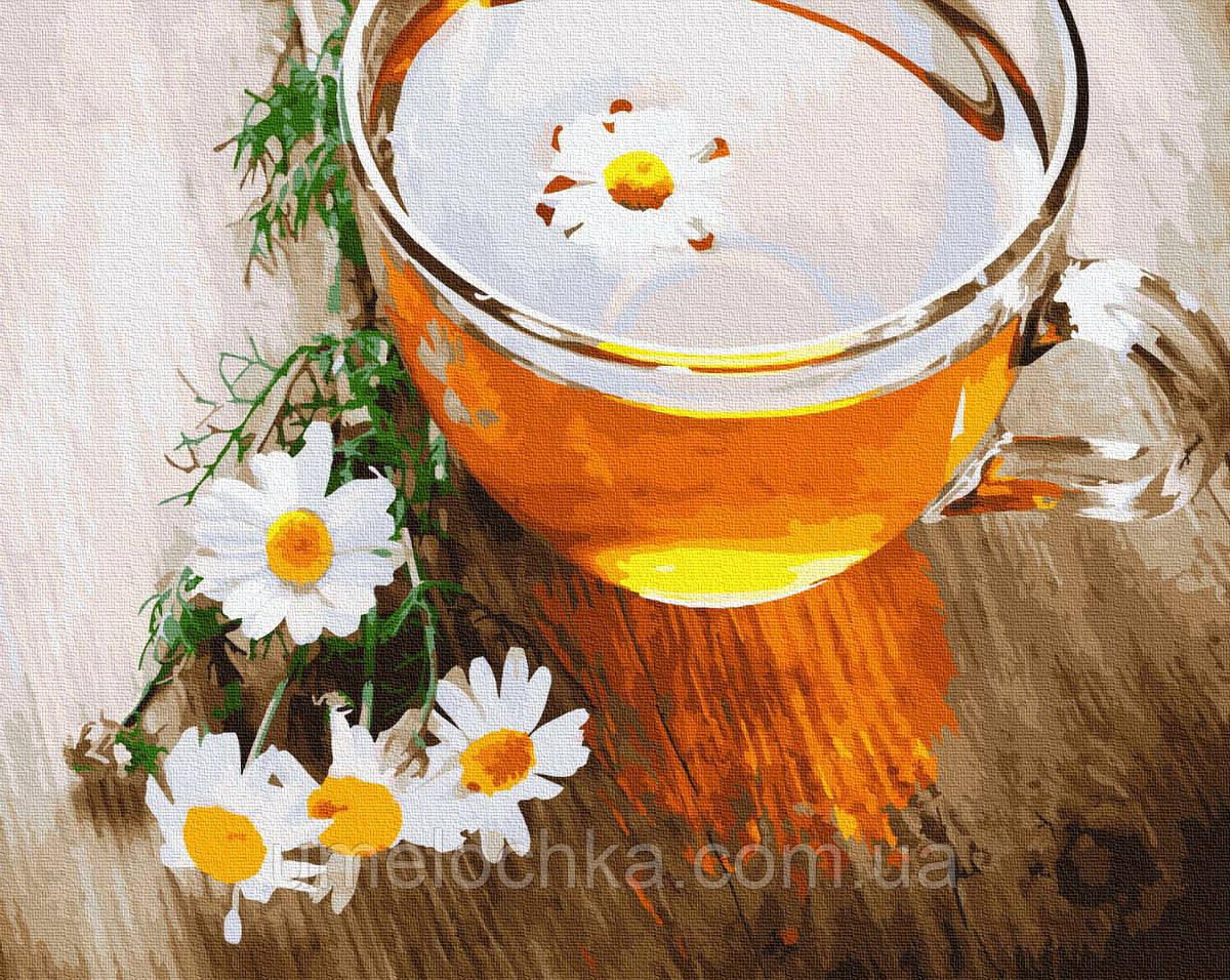 Картина по номерам Ромашковый чай (BRM22026) 40 х 50 см
