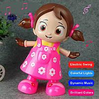Электрическая танцевальная и музыкальная кукла. Игрушки для девочек