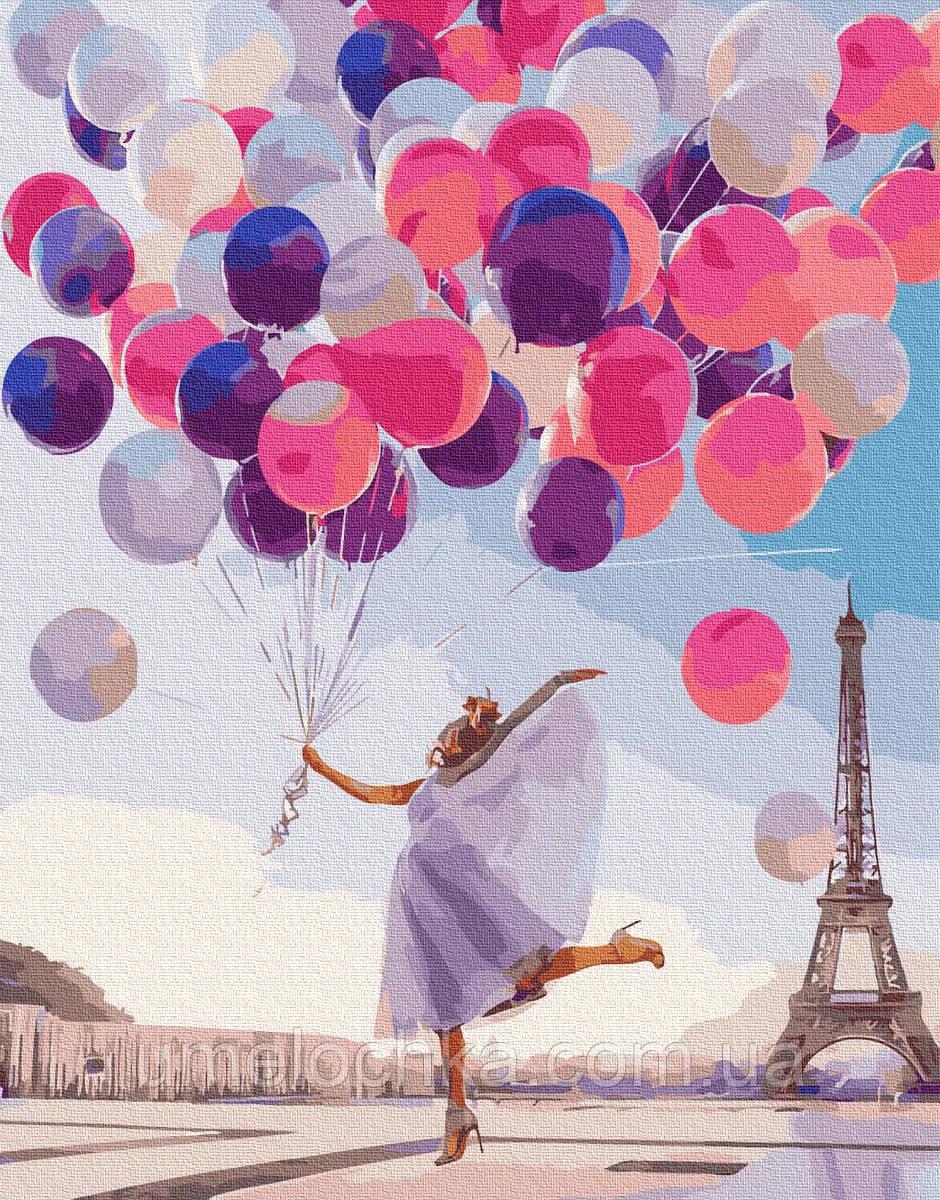 Картина по номерам Яркий Париж (BRM36636) 40 х 50 см
