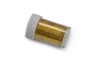 Глиттер/ Блестки, 15 грамм, золотой