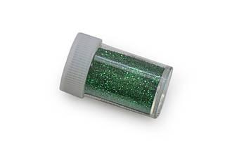 Глиттер/ Блестки, 15 грамм, зеленый