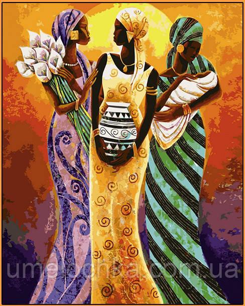 Картина по номерам Babylon Африканские мотивы худ Маллет Кейт (NB415R) 40 х 50 см