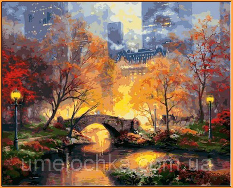 Картина по номерам Babylon Магия вечернего парка (NB872R) 40 х 50 см