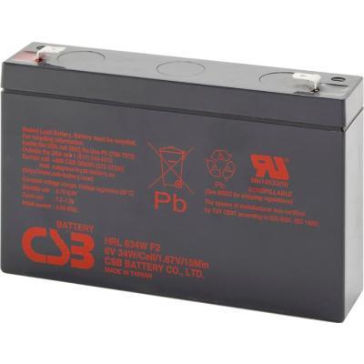 Батарея к ИБП CSB 6В 9 Ач (HRL634WF2)