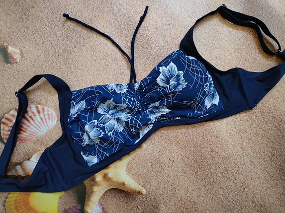 Верх от купальника  SAME GAME 7128 синий  (есть 56 размеры), фото 2