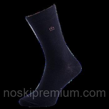 Шкарпетки чоловічі демісезонні бавовна Місюренко, 25 розмір, чорні, 01075