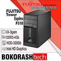 Системний блок Fujitsu Esprimo P510 E85 / Tower-1155 /  Intel core I3-3gen / DDR3-4GB / HDD-320GB (к.00101541), фото 1