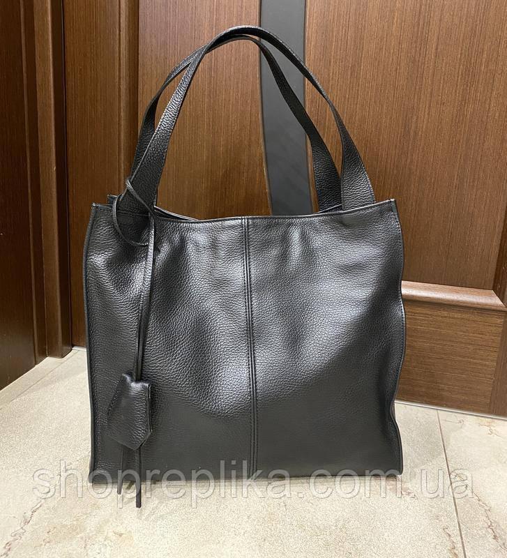 Классическая деловая женская сумка Італия Кожаная сумка вместительная Большая женская кожаная сумка  df265fв