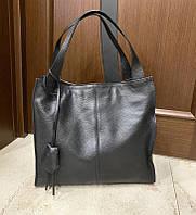 Классическая деловая женская сумка Італия Кожаная сумка вместительная Большая женская кожаная сумка  df265fв, фото 1