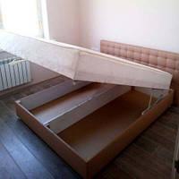 Двуспальная кровать c матрасом «Камила» 200 x 160 см, фото 1