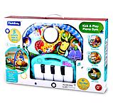 Дитячий розвиваючий ігровий килимок з піаніно Fitch Baby. Подарунок для новонародженого, фото 2