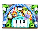 Дитячий розвиваючий ігровий килимок з піаніно Fitch Baby. Подарунок для новонародженого, фото 3