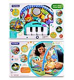 Дитячий розвиваючий ігровий килимок з піаніно Fitch Baby. Подарунок для новонародженого, фото 5