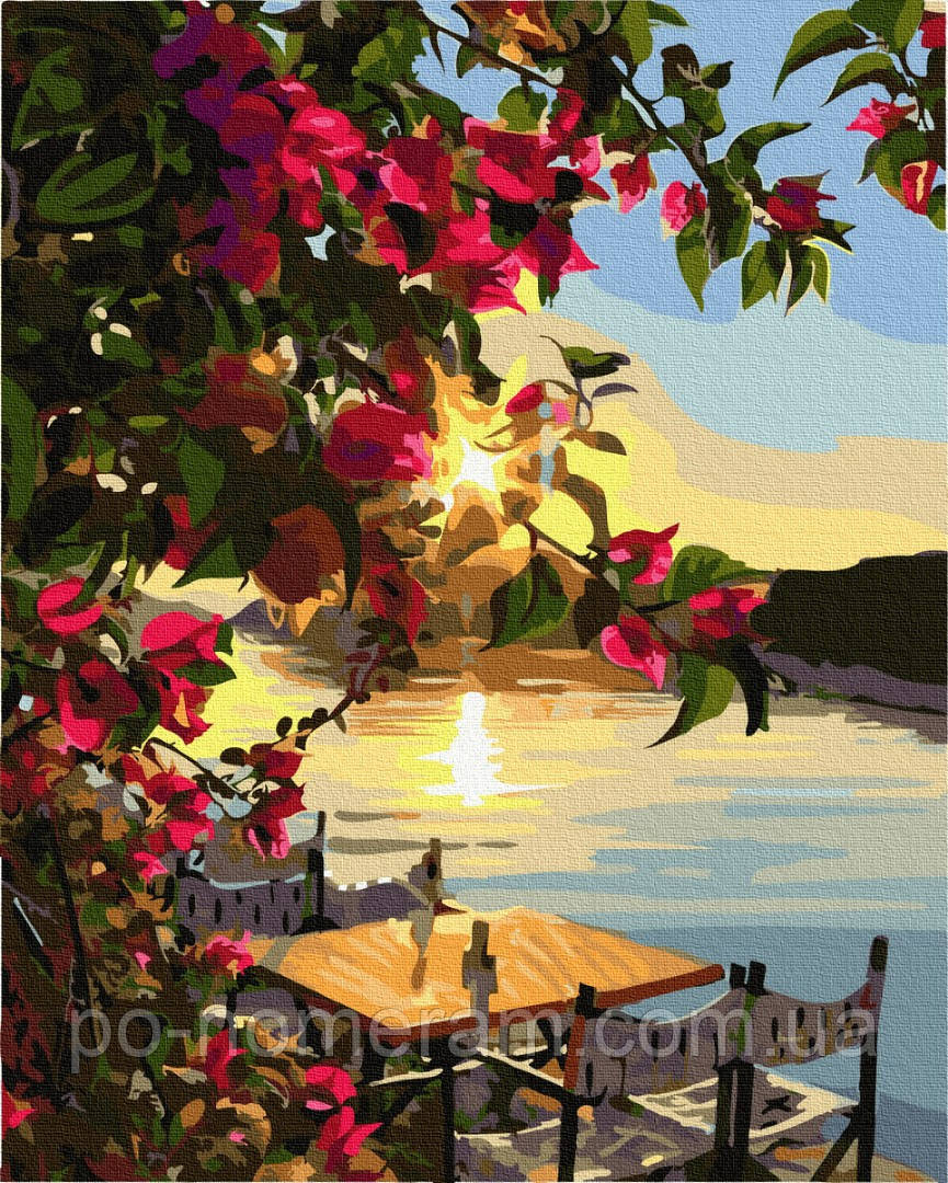 Картина по номерам BrushMe Доброе утро (BRM33211) 40 х 50 см