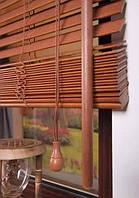 Жалюзи древяные вишня 50 мм под заказ приглашаем дилеров