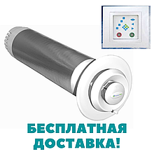 Рекуператор  воздуха CLIMTEC (Климтек) РД-150 База до 40м2 (стеновой)