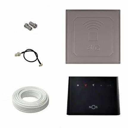 Комплект Huawei B310s-22 с панельной антенной 824-960/1700-2700 МГц, фото 2