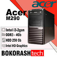 Системний блок Acer M290 / Tower -1155  / i3-2gen / DDR3-4GB / HDD-250GB / Intel HD Graphics (к.00100447), фото 1
