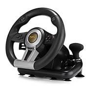Руль с педалями PXN V3 Pro с двойной вибрацией (PC/PS3/PS4/X-ONE/SWITCH/USB)   Джойстик игровой