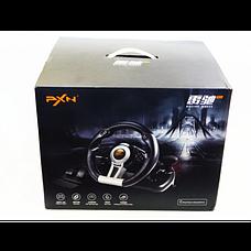 Руль с педалями PXN V3 Pro с двойной вибрацией (PC/PS3/PS4/X-ONE/SWITCH/USB) | Джойстик игровой, фото 3