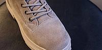 Женские теплые замшевые ботинки . Модель 4503, фото 4