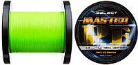Шнур Select Master PE 1000m 0.12мм 15кг (салатовый)