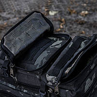 "Рюкзак ""ПАТРУЛЬ"" 35л (Black Multicam), фото 3"