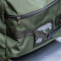 """Баул-рюкзак армейский 80л. """"Кочевник"""" OLIVE, фото 4"""