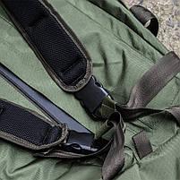 """Баул-рюкзак армейский 80л. """"Кочевник"""" OLIVE, фото 5"""
